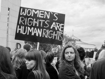 Gotowa lekcja: Women's Protests